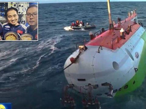 Fendouzhe Kapal Selam China Berhasil Jamah Tempat Terdalam di Bumi